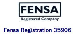 FENSA Logo and Reg